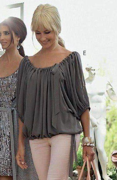 Выкройки летних блузок