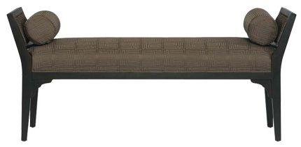 Банкетка Josephine N1940             Метки: Оттоманки.              Материал: Ткань, Дерево.              Бренд: Bernhardt.              Стили: Классика и неоклассика.              Цвета: Коричневый, Серый, Черный.