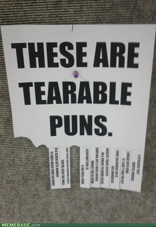 i want to make one of these...: Terrible Puns, Jokes, Senior Gifts, Bad Puns, Funny Stuff, Humor, Love Puns, Tearabl Puns, Funny Memes