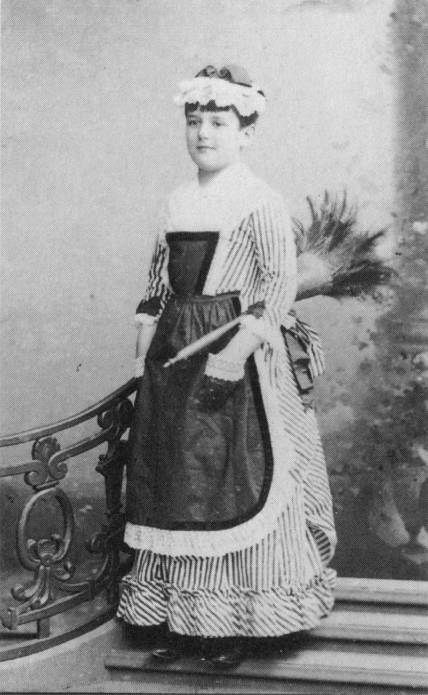 Young Raymond Roussel as a chambermaid