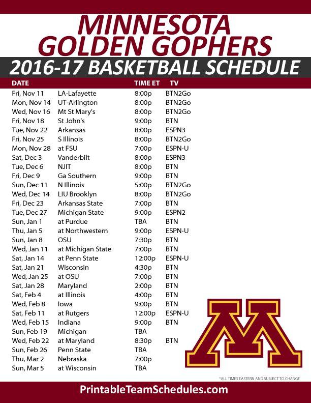 basketball league schedule template