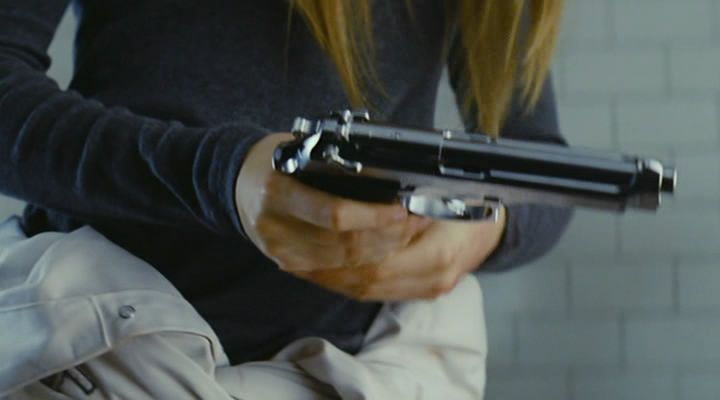 "Lexi stuck the clip into the gun with a snap. ""What are you doing?"" Sarah asked in surprise. ""Getting us out of here,"" Lexi said calmly. ""Where did you get a gun?"" Sarah demanded. ""You wouldn't give me one, so I brought my own,"" Lexi explained. ""Where did you get it?"" Sarah pressed. ""Less talking, more escaping,"" Lexi said urgently. ~Ash Brownd"