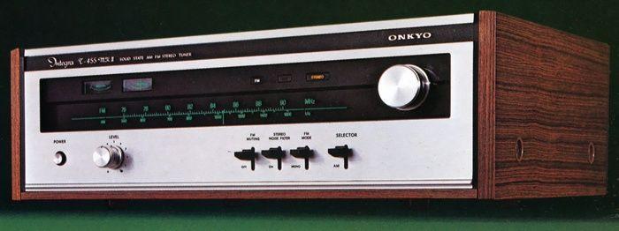 ONKYO Integra T-455mkII   1974