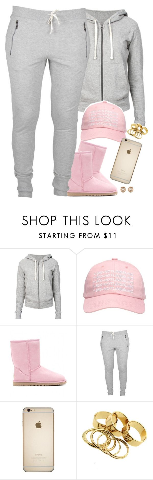 """""""1-800"""" by daisym0nste ❤ liked on Polyvore featuring James Perse, October's Very Own, UGG Australia and Michael Kors"""