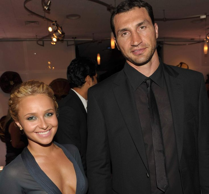 Wladimir Klitschko And Hayden Panettiere---------Wladimir Klitschko and Hayden Panettiere I adore this couple, no seriously, they are beyond adorable together. Klitschko is the World Heavyweight Champion Boxer while Panettiere is an incredible actress and singer. The couple recently had their first baby girl – she is simply gorgeous and has two incredible parents to raise her.
