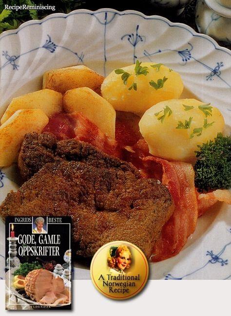 Liver with Apples and Bacon / Lever med Epler og Bacon