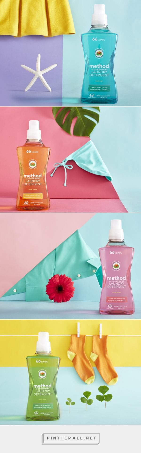New Method Detergent — The Dieline - Branding & Packaging... - a grouped images picture - Pin Them All