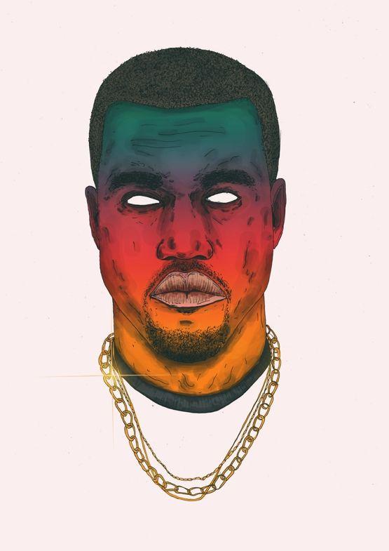 drawing Illustration art trippy Cool music rap dope style rappers graphics inspiration creative portrait artist artwork colour print color Graphic hiphop kendrick lamar asap rocky detail graphic art