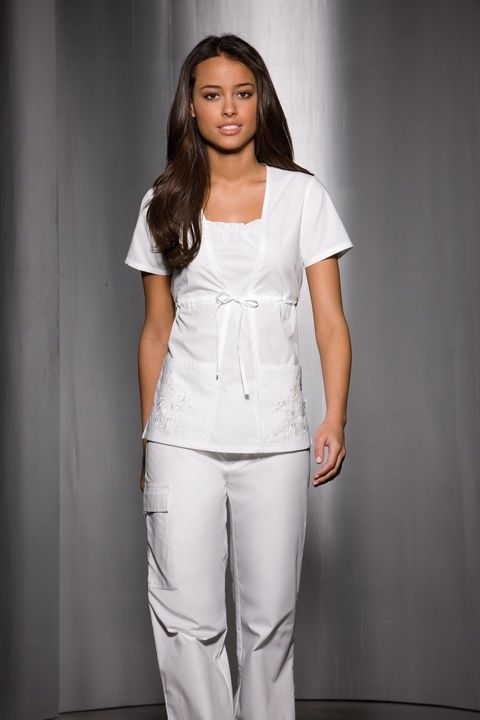 Have you ever seen these nursing scrubs in the past?