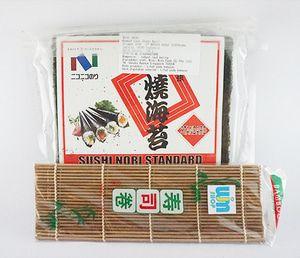 Nico Nori + Sushi Mat Coklat - Gu Nico Nico Nori + Sushi Mat Coklat - Gu Nico