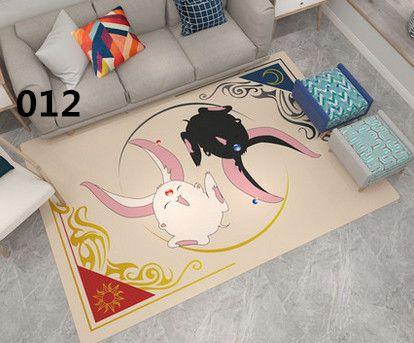 カードキャプターさくら 漫画アニメ女性向けフランネル ウォッシャブル 絨毯リビング 床暖房対応 マイクロファイバー