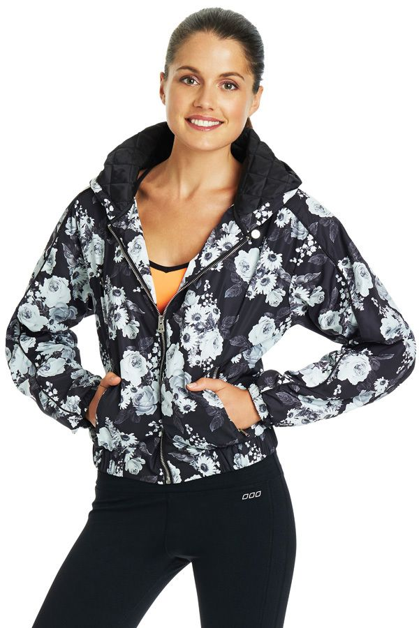 Daisy Fever Active Bomber | Shop The Look | The Look | Categories | Lorna Jane Site