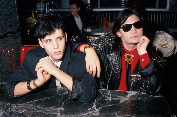Corey Haim and Corey Feldman in 1989.