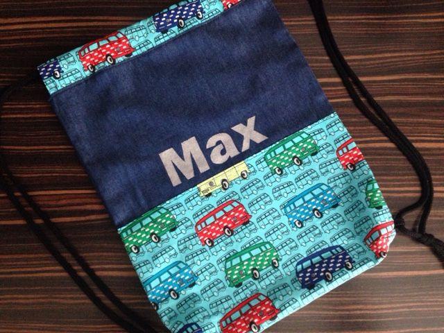 Streken van Miss Steek: Gymtassen-tijd: tas met een naam er op! Leuk cadeau voor kind van 4: klaar voor de kleuters!