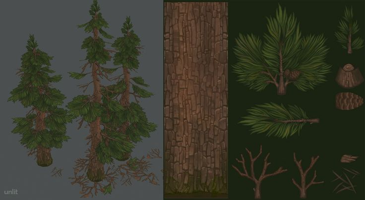Hand painted environment - Wood house - Polycount Forum