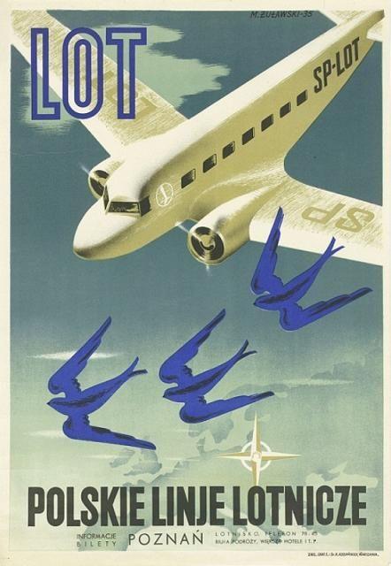 """""""Polskie Linie Lotnicze - LOT"""", 1935"""