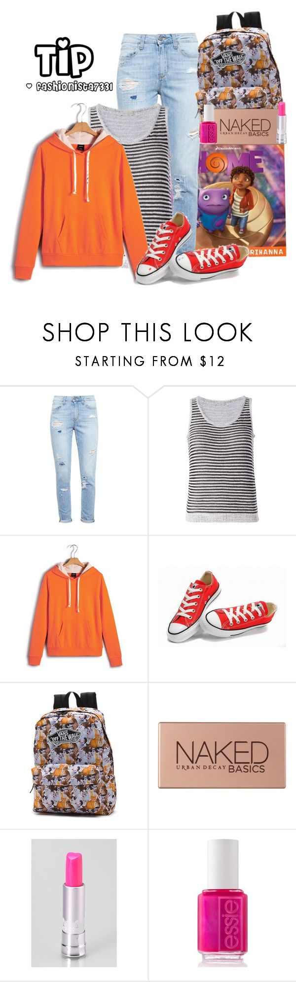 """Tip from ""Home"""" by fashionista7331 ❤ liked on Polyvore featuring Disney, Paige Denim, Maison Ullens, Converse, Vans, Urban Decay, Holika Holika and Essie"