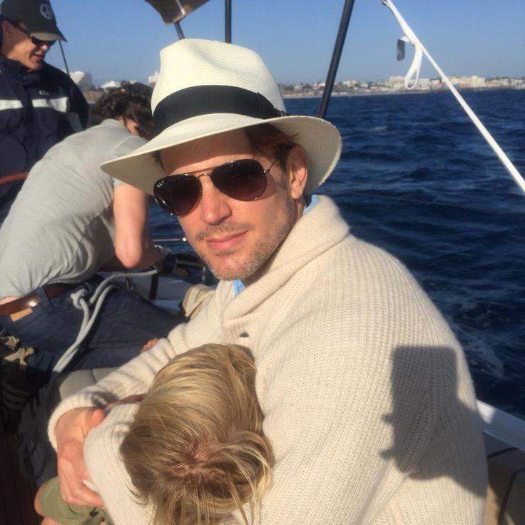 Matt Bomer with son