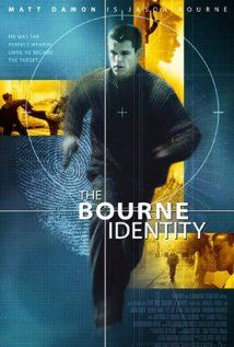 """The Bourne Identity - 2002 """"Jason Bourne: Who has a safety deposit box full of... money and six passports and a gun? Who has a bank account number in their hip? I come in here, and the first thing I'm doing is I'm catching the sightlines and looking for an exit."""""""