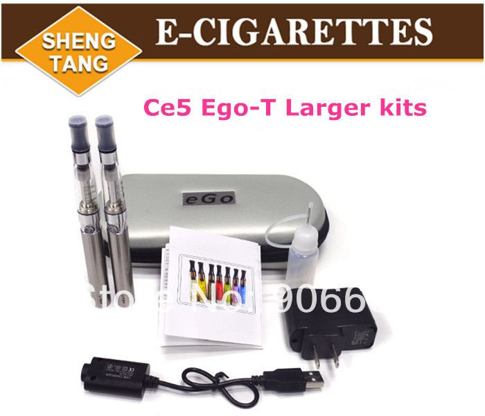 Эго се5 комплекты электронные сигареты комплекты электронная сигарета с эго молнии чехол 2 форсунки 2 батареи различных цветов