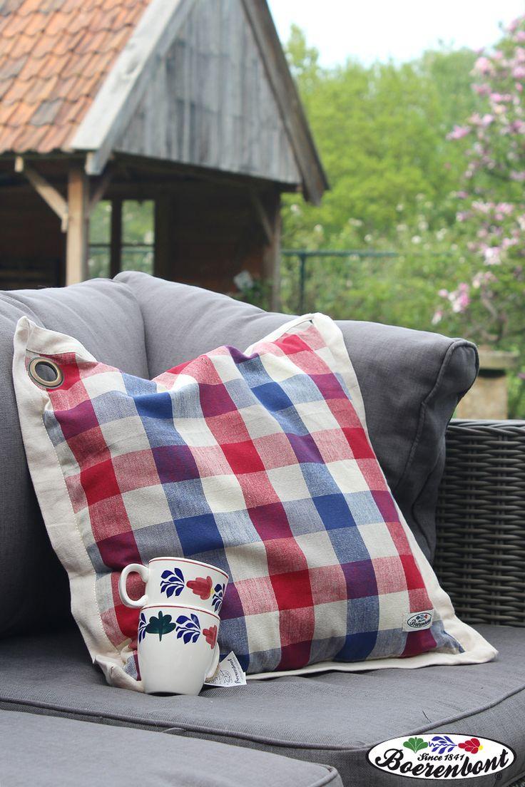 Boerenbont kussens maken de tuinset compleet. Kijk snel verder voor het complete assortiment.