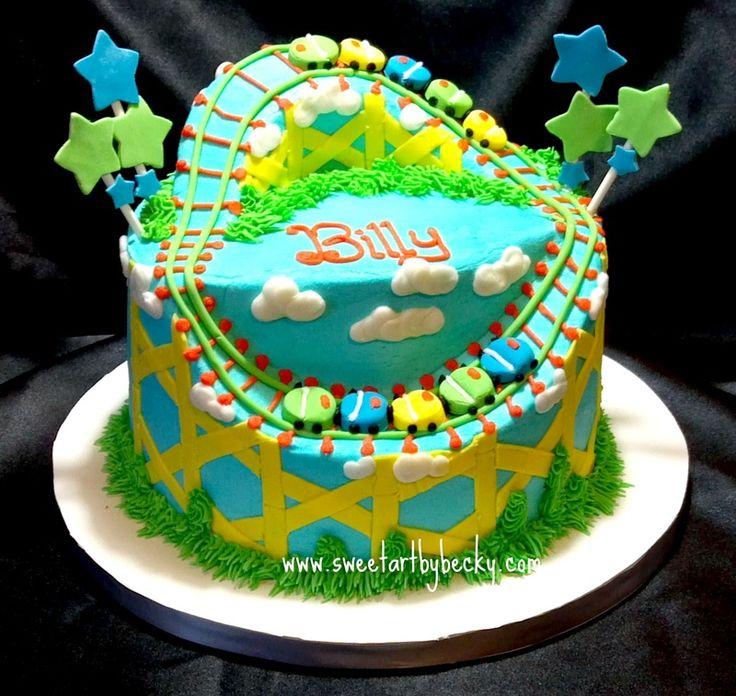 Roller Coaster Cake                                                       …