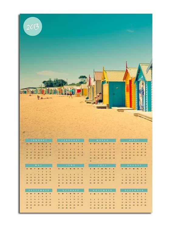 2013 photography calendar  wall calendar 8x12  by mylittlepixels