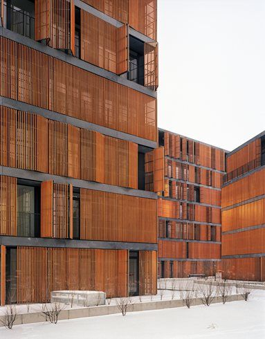 wilanowska housing complex, Warsaw, 2013