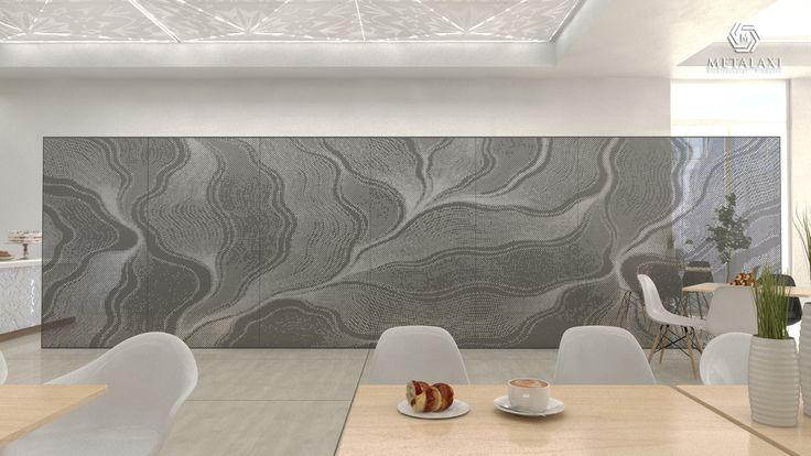 ΔΙΑΤΡΗΤΟ ΔΙΑΧΩΡΙΣΤΙΚΟ Partinioning made of perforated aluminium. Innovative Architectural Products. Life is in the details. www.metalaxi.com