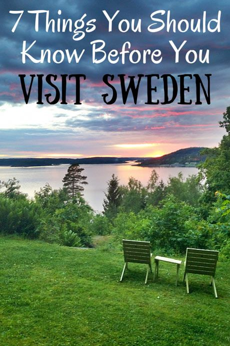 Seven things you should know before visiting Sweden