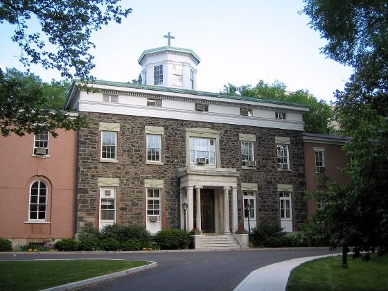 fordham university bronx ny   The Administration Building at the Rose Hill campus, constructed circa ...
