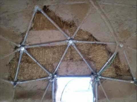 18 best images about ricks future dome home on pinterest for Straw bale house cost calculator