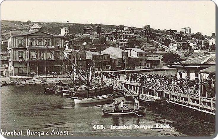 Burgazadası iskelesi - 1930 lar