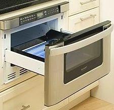 sharp & Samsung make a drawer micro wave