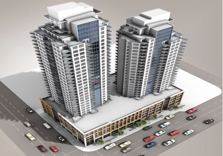 The Fox Towers Fox one will be 142 unit 28 story high-rise condo and Fox 269 unit 33 story condo tower.