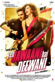 Film Ye Jawani Hai Diwani.  Naina (Deepika Padukone), at two separate but defining times in their lives... first...