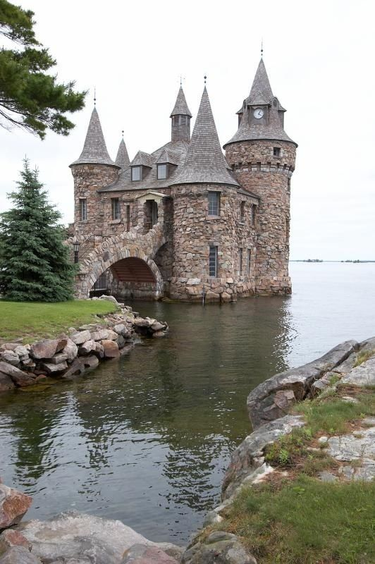 Today Boldt Castle, located near Alexandria Bay, NY in the famed 1000 Islands is once again becoming what it was always meant to be, the premier home and attraction on the St. Lawrnece River.