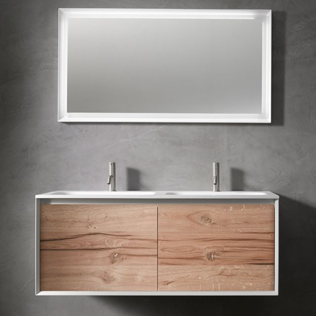new for 45 bathroom furniture collection with vintage oak drawer front