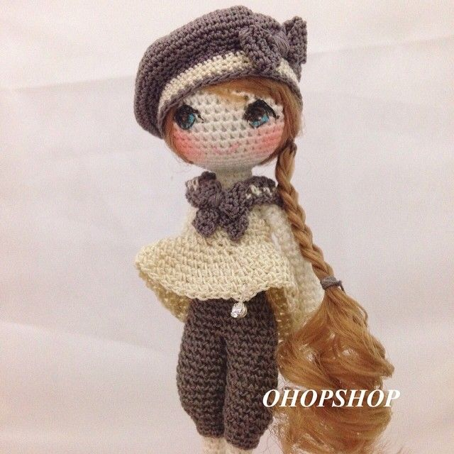 Amigurumi Doll Anleitung : ohopshop Idee Pinterest Girls, Inspiration and Girl ...