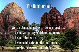 Call of the Wild (Cub Scout Wolf Adventure) Outdoor Code