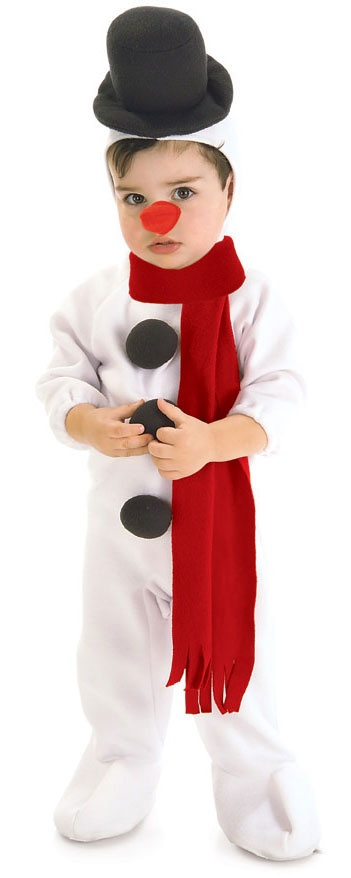 Childs Christmas Costumes Snowman Costume Infant/Toddler HalloweenCostumes4u.com $23.75