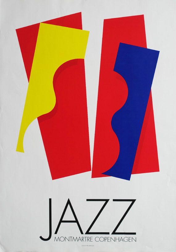 1980 Copenhagen Jazz Montmartre by Per Arnoldi  by OutofCopenhagen