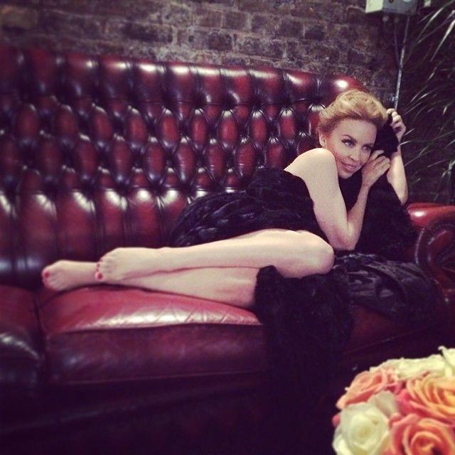 Kylie Minogue 20th December 2013