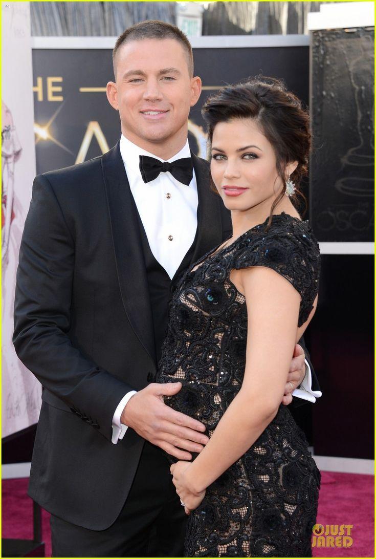 Channing Tatum & Jenna Dewan - Oscars 2013 Red Carpet