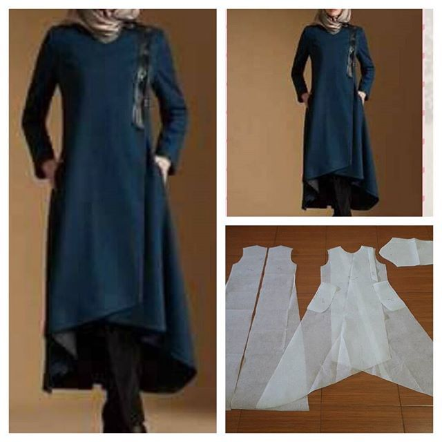 Long blouse pattern with flare skirt assymetry Order via line : @modelliste (with @) #dresspattern#modellistepattern#poladress#jualpola#jasapola#polabaju#jualpoladress#jasapembuatanpola#assymetryskirt#polagamis#polabajumuslim#polagamisdress#poladressgamis#gamis#gamismuslim#longblouse
