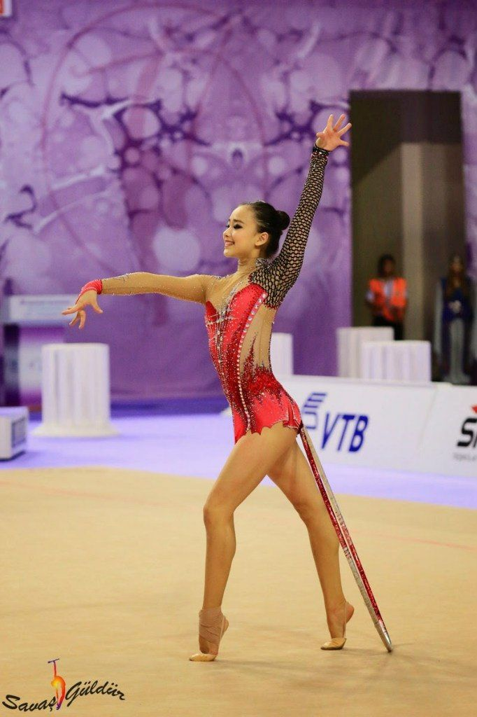 Son Yeon Jae|손연재, South Korea, won bronze in hoop in World Championships Izmir (Turkey) 2014