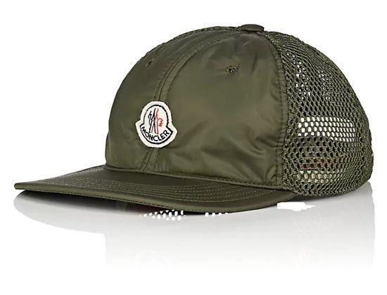 72a0acd1a3c Logo Mesh-Back Strapback Cap by MONCLER – Oh Snapbacks