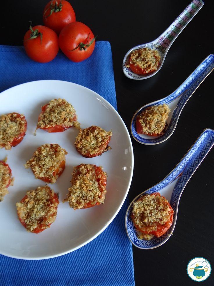 Pomodori gratinati alle erbe