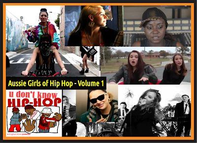 Aussie Girls of Hip Hop - Volume 1 #aghh  -  #AussieGirlsofHipHop  -  #AustralianHipHop  -  #nuerahiphop
