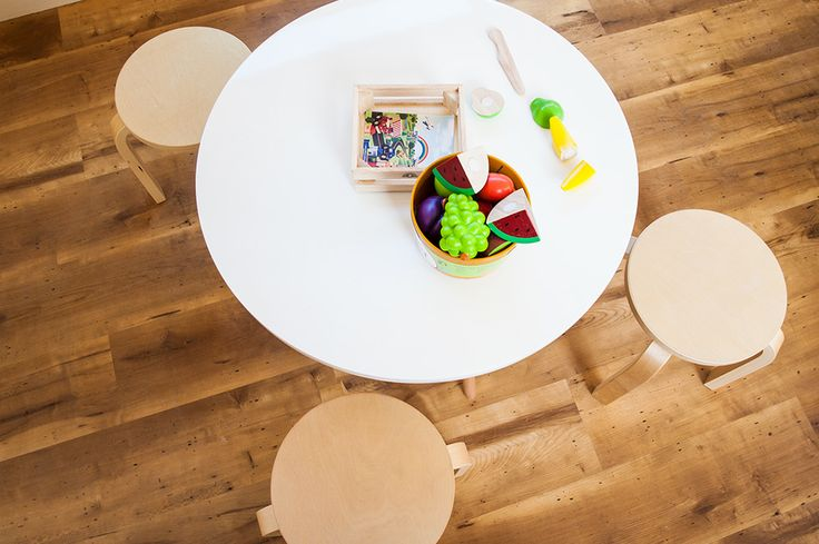 Natural finishes on both flooring and furniture for kids at Greenwood Concord. www.greenwood.com.au